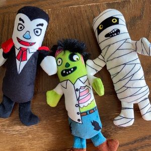 Dog toys Halloween squeaky monster set New Dracula